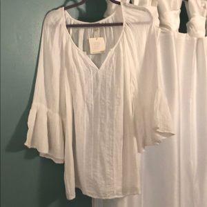 Beautiful white cotton top